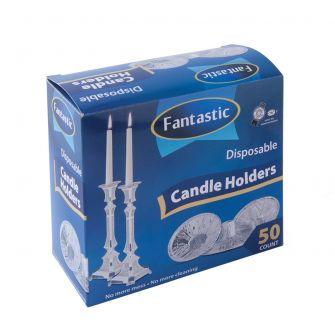 Fantastic Candle Holders - 50 Count