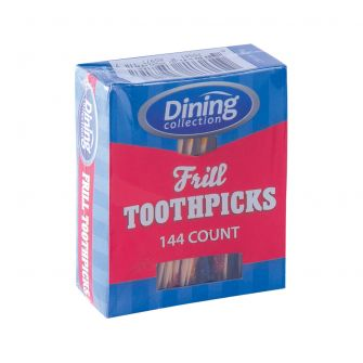 Dining Collection Frill Toothpicks - 144 ct. - 24 ct.
