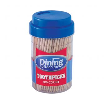 Dining Collection Round Toothpicks - 300 ct.