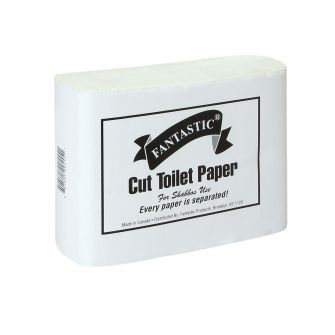 Cut Toilet Paper - 400 ct.