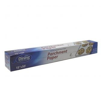"Dining Collection Parchment Paper - 15"" x 50 ft."
