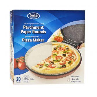 "Dining Collection Pizza Maker Parchment Paper - 12"" Diameter - 20 ct."