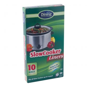 "Dining Collection Slow Cooker Liners - 18"" x 14"" - 10 ct."