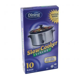 "Dining Collection Slow Cooker Liners (Wide) - 13"" x 21"" x 4"" - 10 ct."