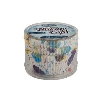 Fantastic Baking Cups (Standard Size) -  Birthday - 72 Count