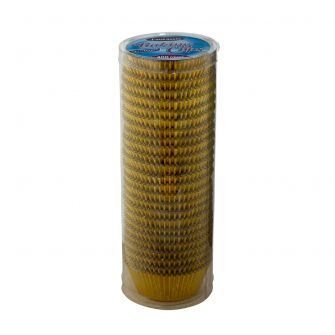 Fantastic Baking Cups (Standard Size) -  Foil Gold - 400 Count