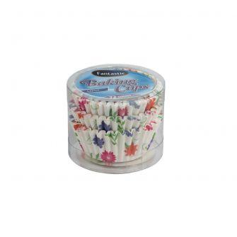 Fantastic Baking Cups (Mini-Size) -  Floral - 72 Count