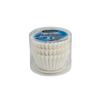 Fantastic Baking Cups (Mini-Size) -  White - 72 Count