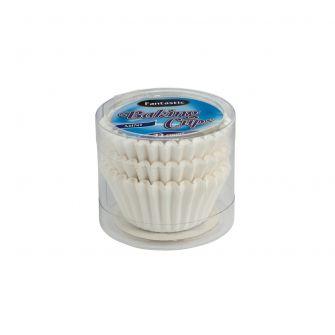 Fantastic Baking Cups (Mini-Size) -  White - 72 Count