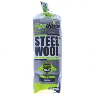 Pandora Steel Wool #0000 (Finest) - 16 ct.