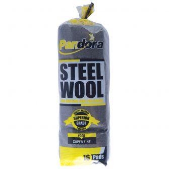 Pandora Steel Wool #000 (Super Fine) - 16 ct.