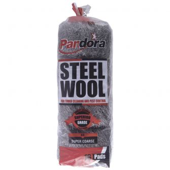 Pandora Steel Wool  #4 (Super Coarse) - 16 ct.