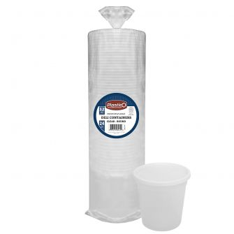 Plastico 32 oz. Soup Container w/ Lid (Bulk Packaging)