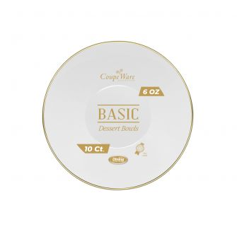 CoupeWare Basic 6 oz. W&G Bowl - 10 ct.