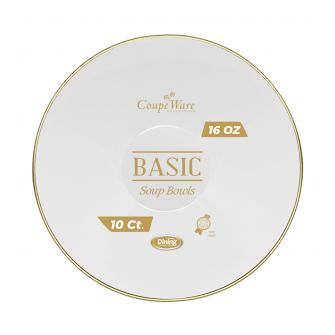 CoupeWare Basic 16 oz. W&G Bowl - 10 ct.