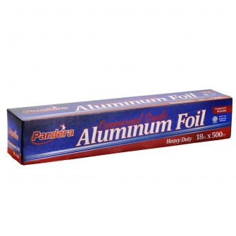 "Pandora Commercial Roll Heavy Duty Foil 18"" - 500 ft."