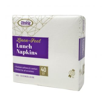 Dining Collection Linen-Feel Lunch Napkins - 40 Ct.