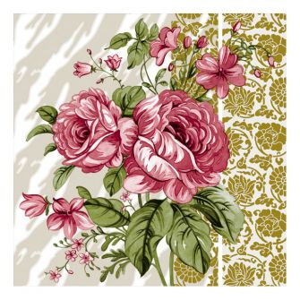Dining Collection Lunch Napkins - Vintage Rose - 20 ct.