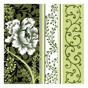 Dining Collection Lunch Napkins Vector #24