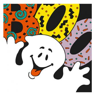Lunch Napkin - Boo Ghost - 20 ct.
