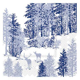 Christmas Lunch Napkins - Winter Wonderland - 20 ct.