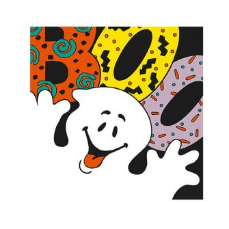 Halloween Cocktail Napkins - Boo Ghost - 20 ct.