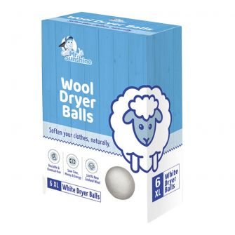Mr. Sunshine Wool Dryer Balls - 6 ct