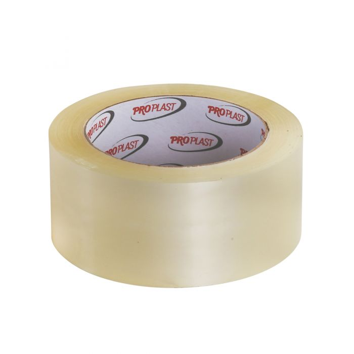 """ProPlast Packing Tape (For Individual Retail) - Clear - 2"""" x 110 yds. - 36 Count"""