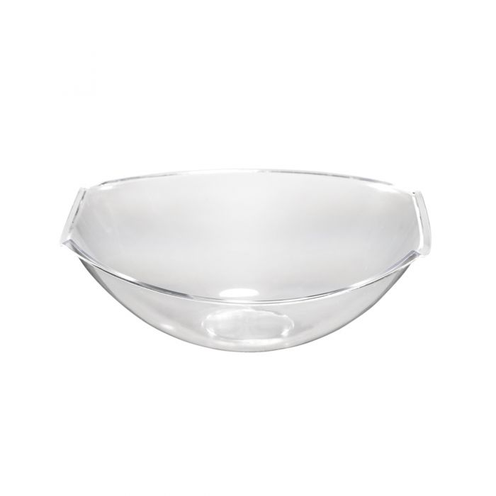Poise Small Salad Bowl - Clear Plastic - 50 Count