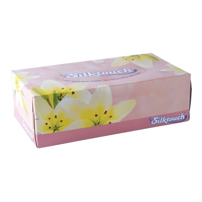 Silktouch Facial Tissue - 130 ct.