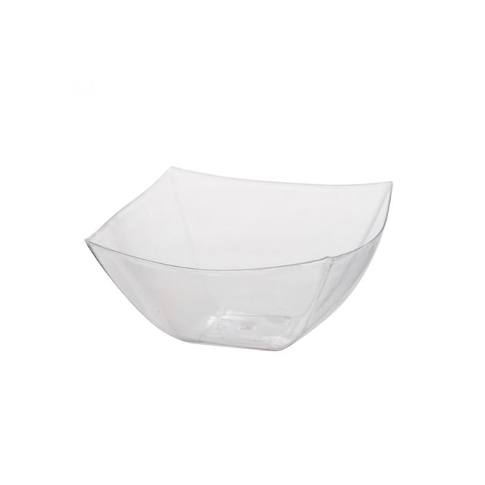 Dining Collection 8 oz. Square Bowl - Clear