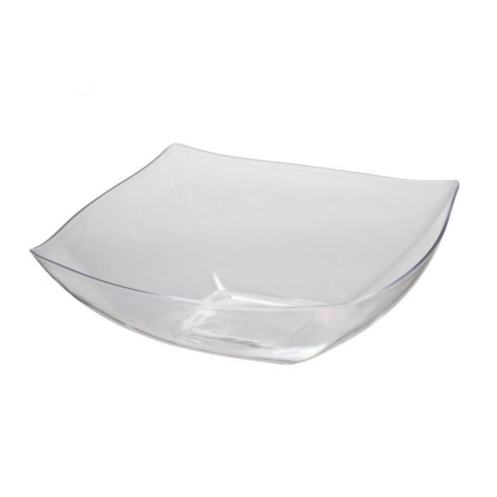 Dining Collection 64 oz. Square Bowl - Clear