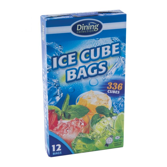 Dining Collection Ice Cube Bags (336 Cubes) - 12 Count