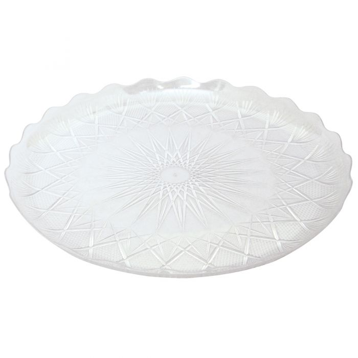 "Dining Collection 13"" Round Cake Platter"