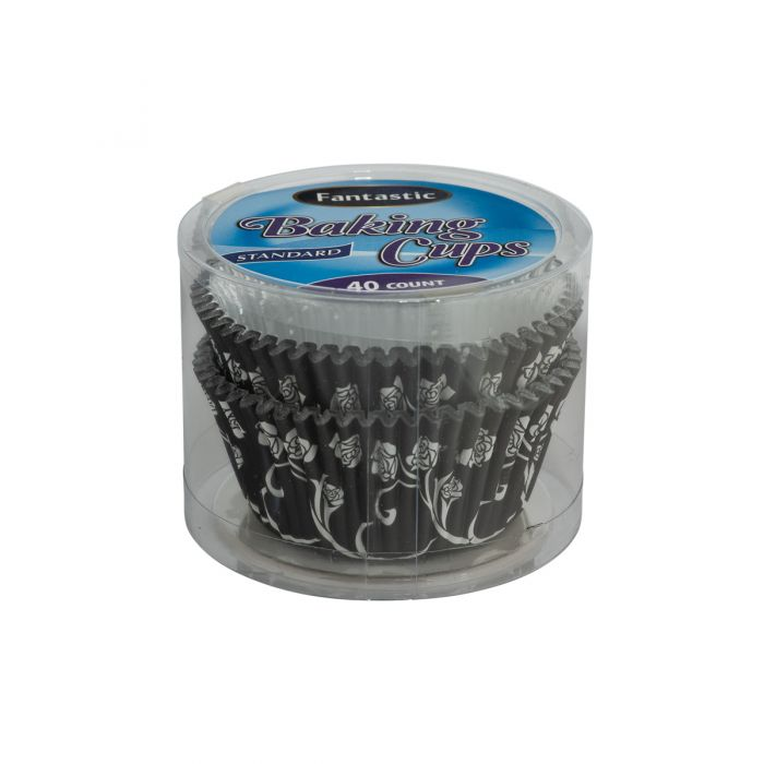 Fantastic Baking Cups (Standard Size) -  Paper/Foil - 40 Count