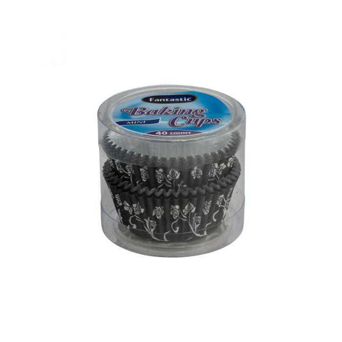 Fantastic Baking Cups (Mini-Size) -  Paper/Foil - 40 Count
