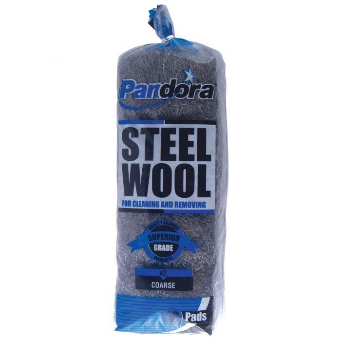 Pandora Steel Wool  #2 (Coarse) - 16 ct.