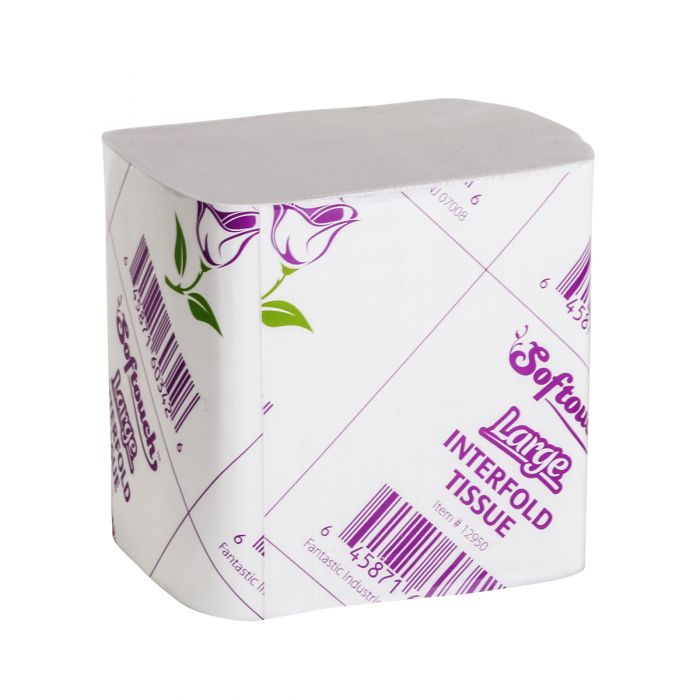 Silktouch Large Cut Toilet Paper - 375 ct.
