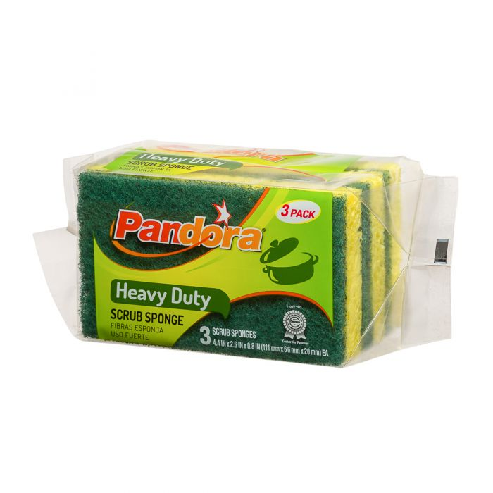 Pandora Heavy Duty Sponge - 3ct.