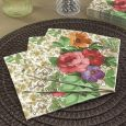 Dining Collection Lunch Napkins - Floral Devotion - 20 ct.