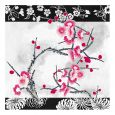 Dining Collection Lunch Napkins Flowers #34