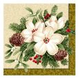Dining Collection Lunch Napkins Flowers #36