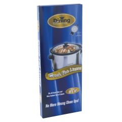 "Dining Collection Crock Pot Liners - 18"" x 14"" - 10 ct."