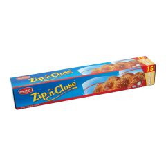 Plastico Zip n' Close Challah 2 Gal. Bags - 15 ct.