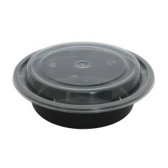 Dining Collection 16 oz. Round Container w/ Lid - 4 ct.