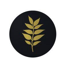 "CoupeWare Gold Leaf (Black/Gold)  7.5"" Plates - 10 ct."