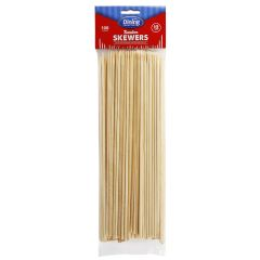 "Dining Collection 12"" Bamboo Skewers - 100 ct."