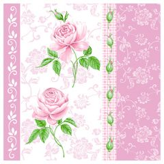 Dining Collection Lunch Napkins Flowers #33