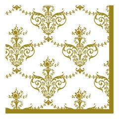 Dining Collection Lunch Napkins - Royal Fleur-de-lis - 20 ct.