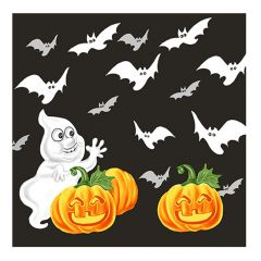 Halloween Lunch Napkins - Ghost & Bats - 20 ct.